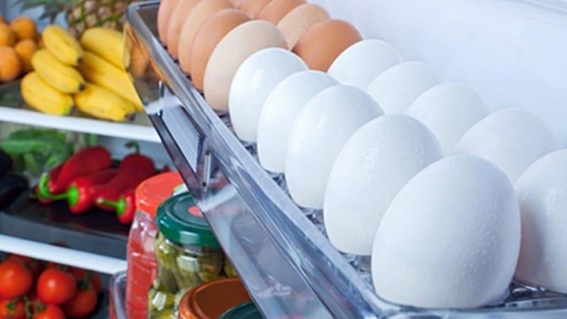 Cách bảo quản thời gian thực phẩm trứng trong tủ lạnh