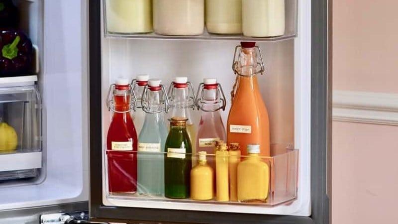 Cách sắp xếp thực phẩm vị trí cánh cửa tủ lạnh