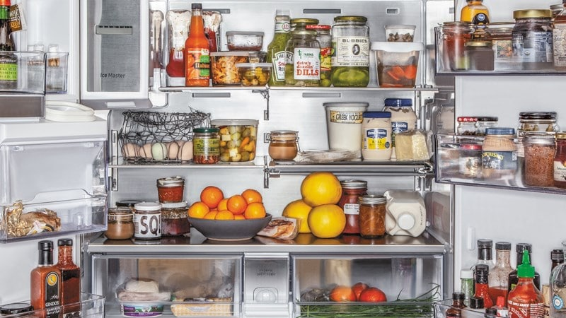 Lưu ý việc sắp xếp trong tủ lạnh các thực phẩm đặc biệt