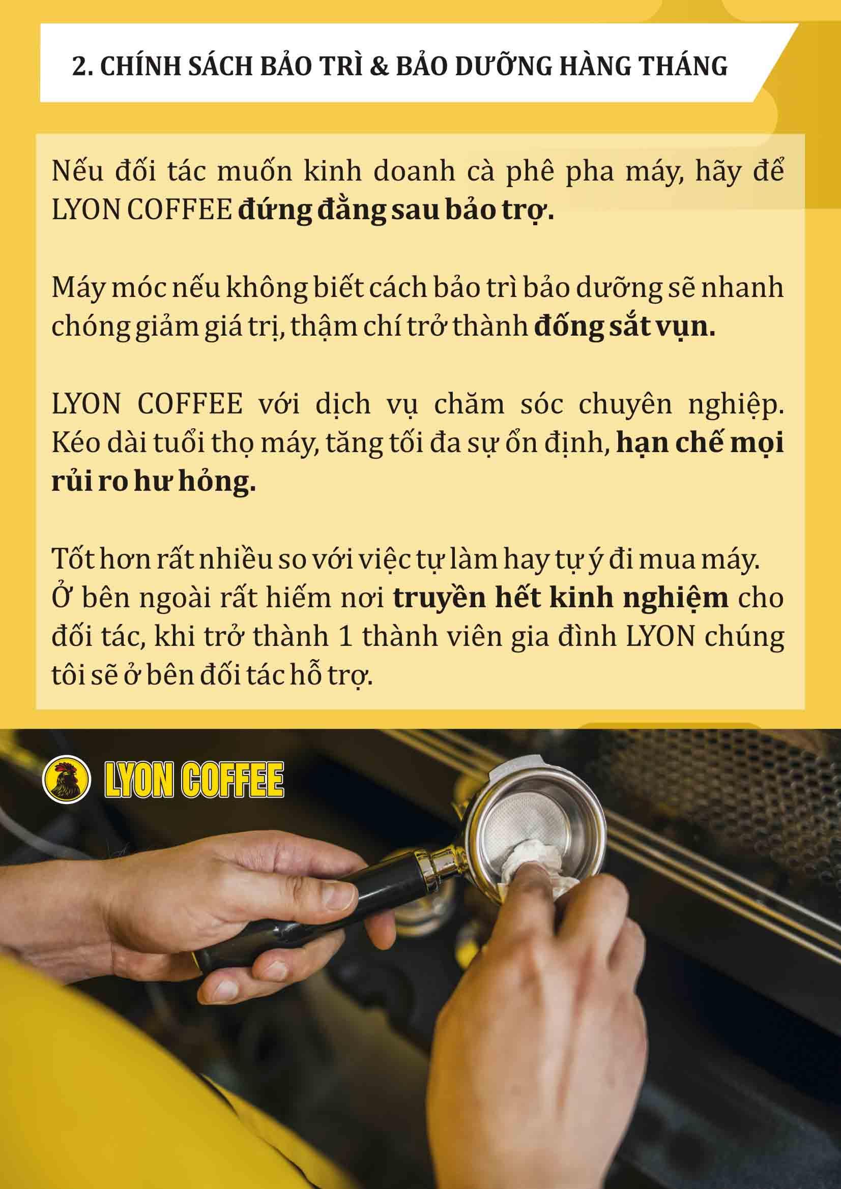 Nhà chuyên cung cấp máy pha cà phê tại tphcm có chính sách bảo trì bảo dưỡng tuyệt vời nhất