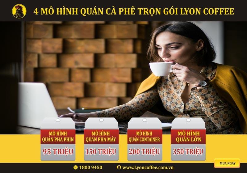 Nhượng quyền thương hiệu Lyon Coffee