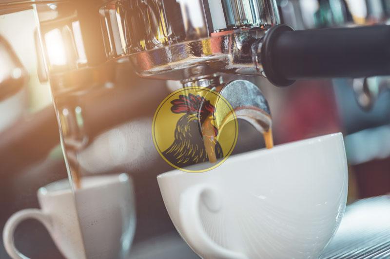 cà phê pha máy có định lượng pha ra tốt hơn