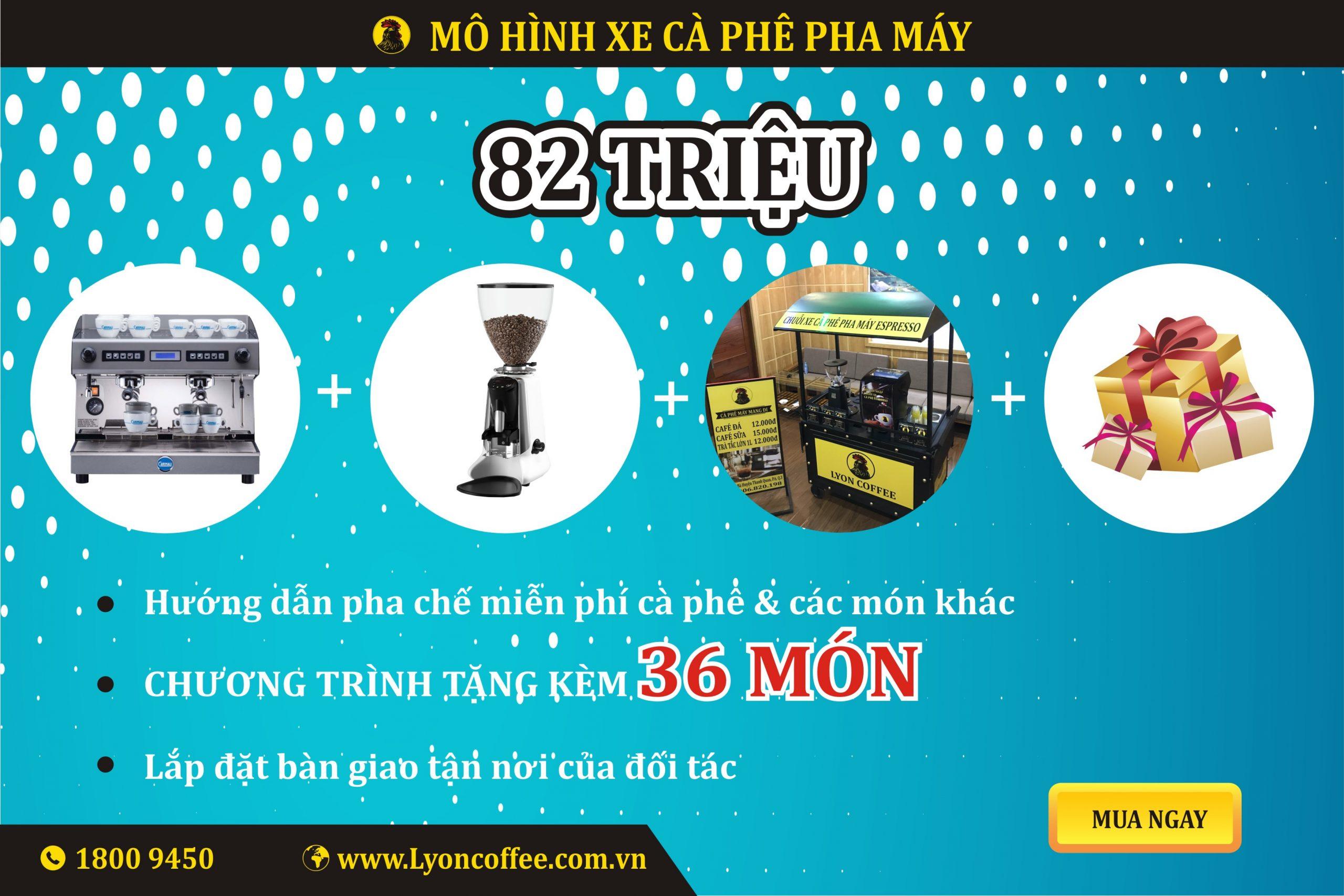 Kinh doanh mô hình mua xe đẩy bán cà phê chỉ 82 triệu đồng