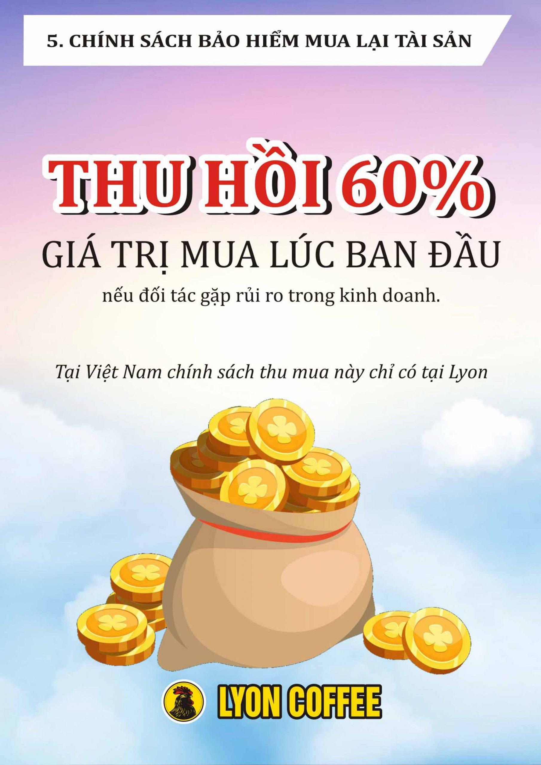 Tại Việt Nam, chính sách thu mua này chỉ có tại Lyon Coffee