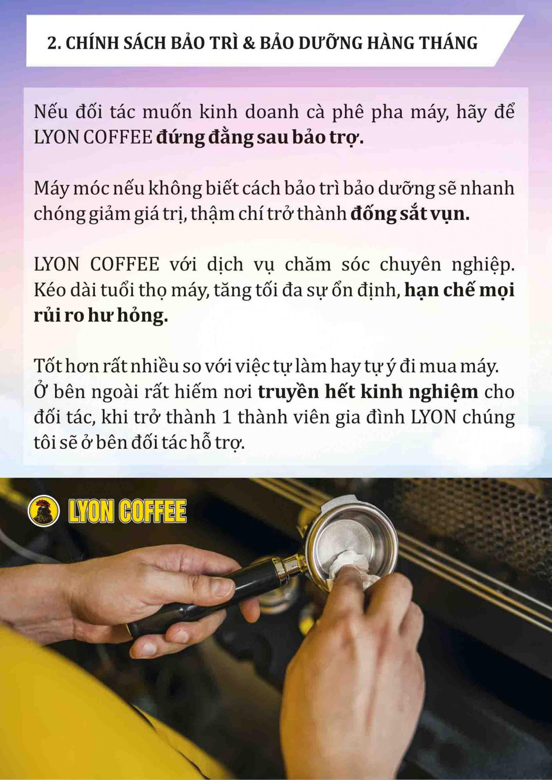 Bảo hành tốt hơn lâu hơn khi thanh lý máy pha cà phê, cafe cũ xịn giá rẻ