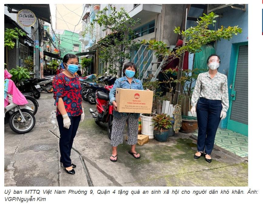 Cách tìm số tổ Trưởng khu phố đăng ký đề nghị túi an sinh tiền trợ cấp TPHCM 1,500,000