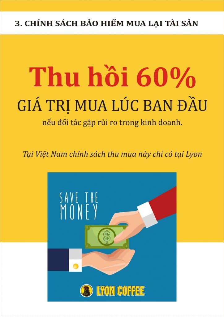 Chính sách bảo hiểm mua lại 60% tài sản chỉ có tại Việt Nam