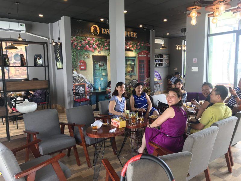 Bàn ghế Sopha dành cho mô hình nhượng quyền cao cấp Lyon Coffee