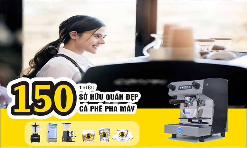 Mô hình kinh doanh mở quán cà phê pha máy