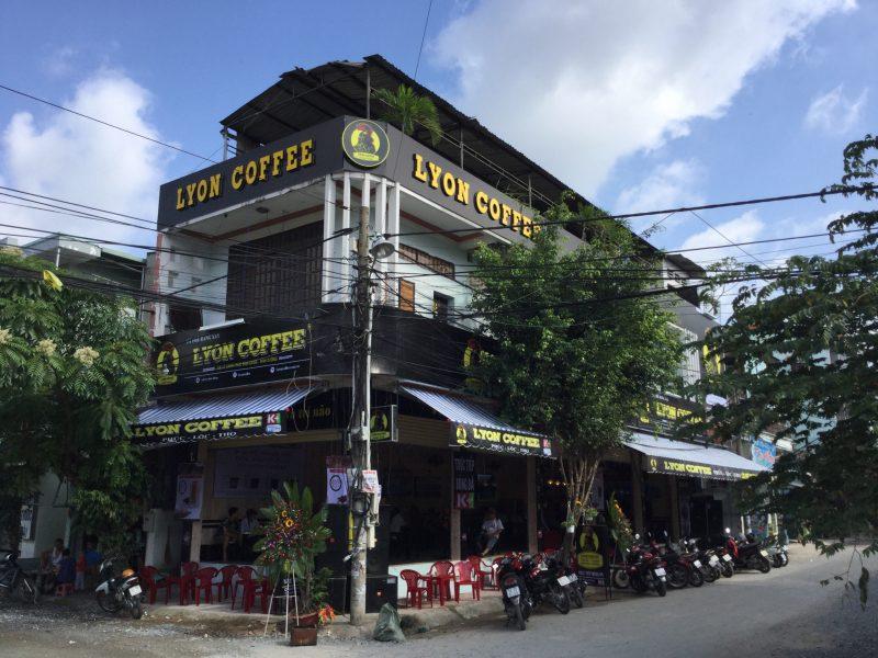 Hạng mục quảng cáo của quán cà phê
